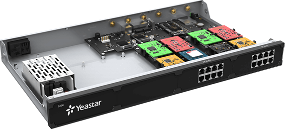 Yeastar S100 modulair uitbreidbaar